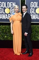 Michelle Williams At 77th Annual Golden Globe Awards in Beverly Hills