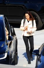 Mila Kunis Heads to a meeting in Beverly Hills