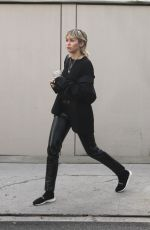 Miley Cyrus Outside a studio in Los Angeles