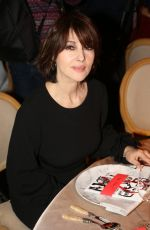 Monica Bellucci At 18th Fashion dinner for AIDS Sidaction Association in Paris