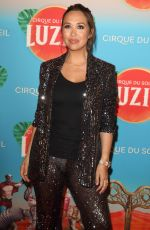 Myleene Klass At the Cirque du Soleil Luzia Press Night at the Royal Albert Hall, Kensington, London