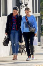 Natalie Portman Leaves a lunch outing at Crossroads Kitchen restaurant in West Hollywood