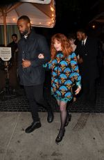 Natasha Lyonne Spotted leaving a Golden Globe Pre Party at the Chateau Marmont in Hollywood
