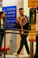 Nick Jonas and Joe Jonas out with Priyanka Chopra and Sophie Turner arrive in Miami for New Year
