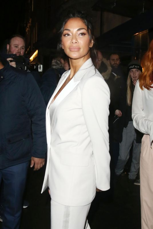 Nicole Scherzinger and The Pussycat Dolls at Bagatelle restaurant in Mayfair, London