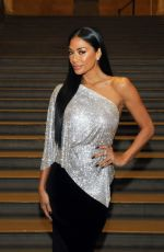 Nicole Scherzinger Attended the Greek Fashion Designer Celia Kritharioti Couture SS20 fashion show at the British Museum in London
