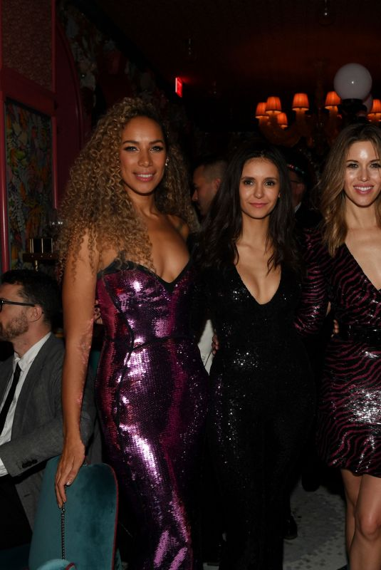 Nina Dobrev, Kayla Ewell and actress Candice Accola At The Mayfair Supper Club At Bellagio Las Vegas Debuts On New Year