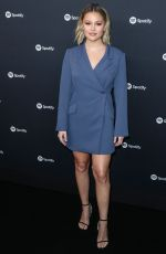 Olivia Holt At Spotify Hosts Best New Artist Party in LA