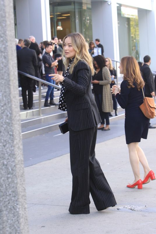 Olivia Wilde Attends a luncheon in Beverly Hills