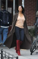 Padma Lakshmi Spotted out and about in NYC