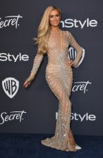 Paris Hilton At Warner Bros. & InStyle Golden Globe After Party in Beverly Hills