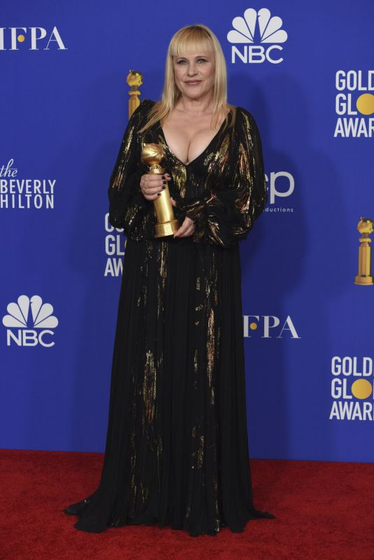 Patricia Arquette At 77th Annual Golden Globe Awards in Beverly Hills