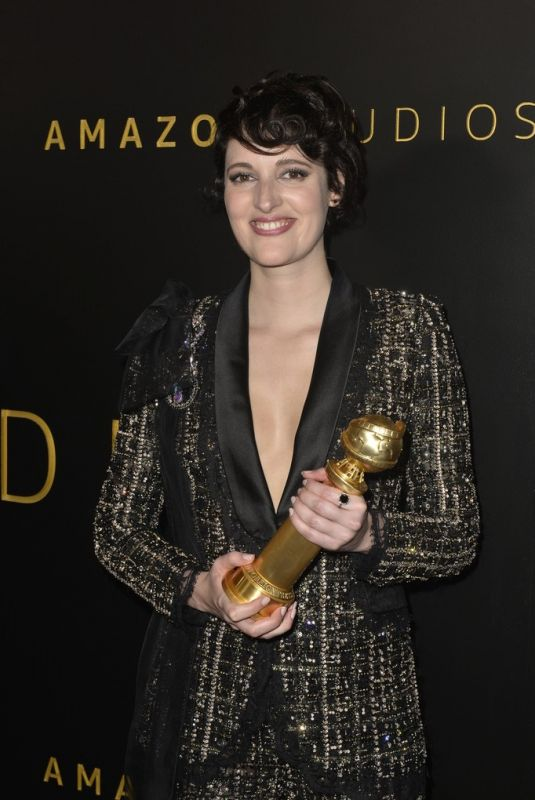 Phoebe Waller-Bridge At Amazon Studios Golden Globes After Party in Beverly Hills