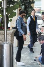 Priyanka Chopra Arrives at the Peninsula in Beverly Hills
