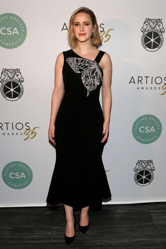Rachel Brosnahan At 35th Annual Artios Awards at Stage 48 in New York City