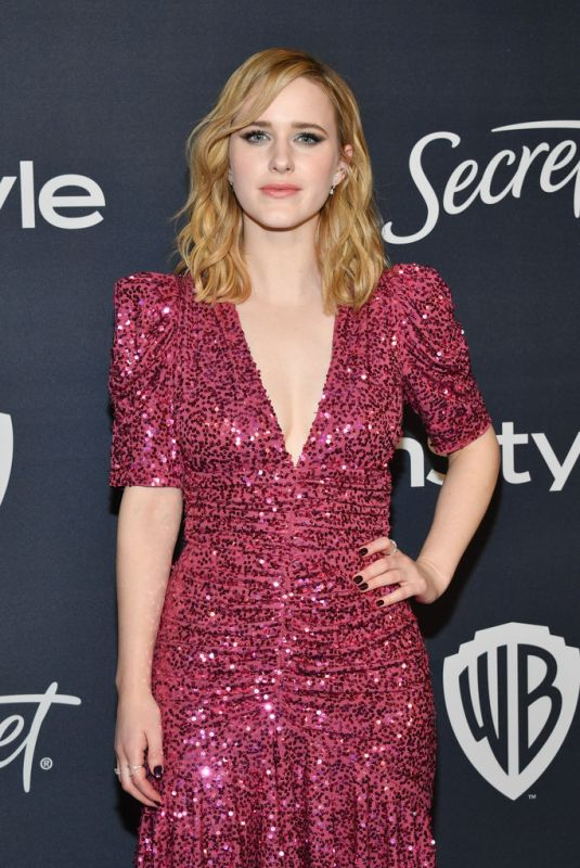 Rachel Brosnahan At InStyle And Warner Bros. 77th Annual Golden Globe Awards Post-Party