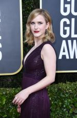 Rachel Brosnahan At the 77th annual Golden globe awards in Beverly Hills
