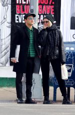 Rami Malek & Lucy Boynton All smiles while out shopping in Manhattan