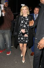 Reese Witherspoon Arrives at TAO Downtown for the New York Film Critics Circle Awards in NYC