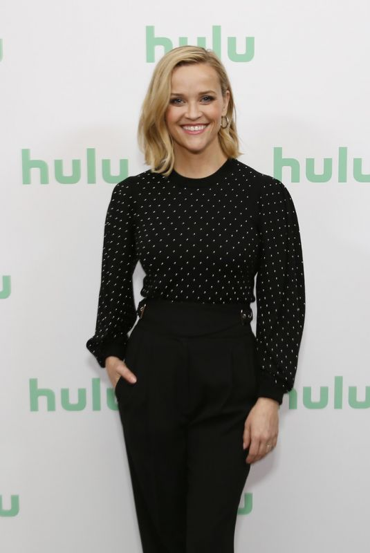 Reese Witherspoon At Hulu Panel at Winter TCA 2020 in Pasadena