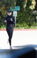 Reese Witherspoon Seen jogging in Brentwood