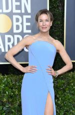 Renee Zellweger At 77th Annual Golden Globe Awards 2020 in Beverly Hills