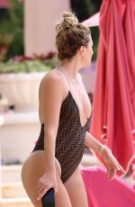 Rhea Durham Seen during her vacation in Barbados