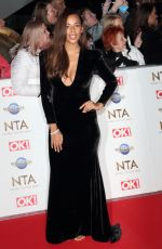 Rochelle Humes At 25th National Television Awards, Arrivals, O2, London