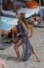 Romee Strijd On the set of a Victoria