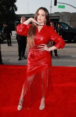 Rosalia At 62nd Annual GRAMMY Awards in LA