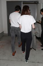 Rose Leslie and Kit Harington spotted catching a flight out of LAX airport in Los Angeles