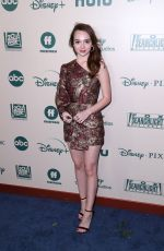 Ruby Jay Attends The Walt Disney Company at The Beverly Hilton Hotel in Beverly Hills