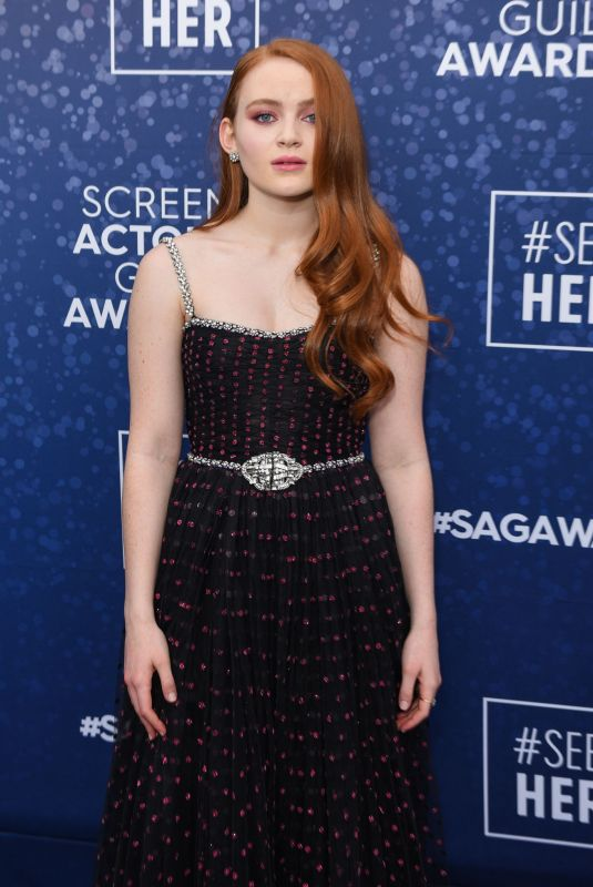 Sadie Sink At 26th Annual Screen Actors Guild Awards in Los Angeles