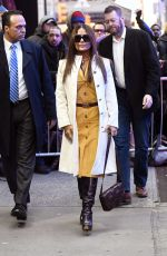 Salma Hayek Arriving at GMA studios in NYC