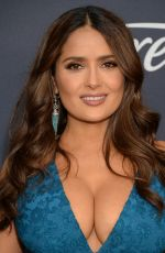 Salma Hayek At Warner Bros. And InStyle Golden Globe After Party in Beverly Hills