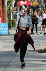 Sarah Hyland After a gym session in Studio City