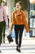 Sarah Hyland Seen out with a friend after lunch in Studio City