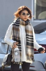 Sarah Hyland Starts her day off with a pilates session in Studio City
