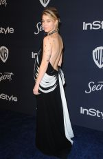 Sarah Jones At 21st Annual Warner Bros. And InStyle Golden Globe After Party