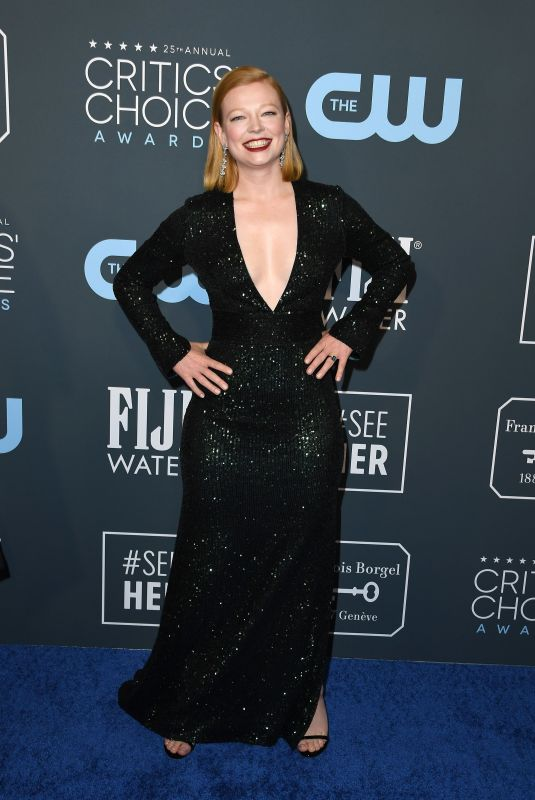 Sarah Snook At 25th Annual Critics Choice Awards in Santa Monica