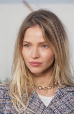 Sasha Luss At Chanel show, Front Row, Paris, France