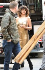 "Selena Gomez At Video Set of ""Rare"" in Los Angeles"