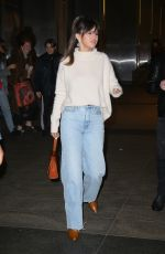 Selena Gomez Has dinner at Nobu in NYC