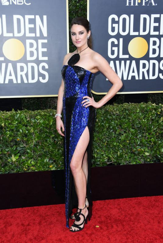 Shailene Woodley At 77th Annual Golden Globe Awards in Beverly Hills
