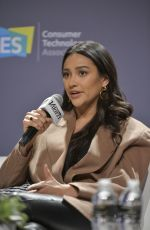Shay Mitchell At Fan First Engagement Riding the Direct-to-Consumer Wave during CES 2020 in Las Vegas