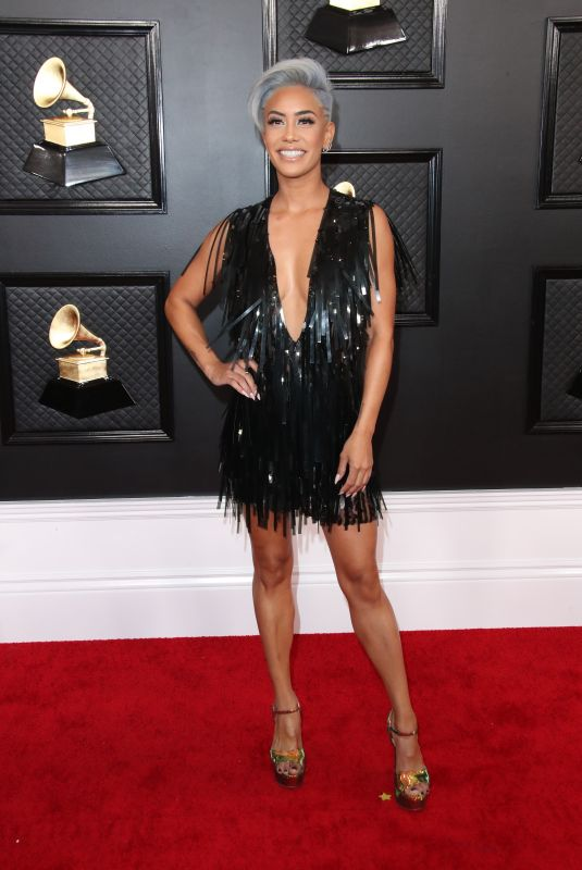 Sibley Scoles Attends the 62nd annual GRAMMY Awards at the STAPLES Center in Los Angeles