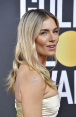 Sienna Miller At 77th Annual Golden Globe Awards in Beverly Hills