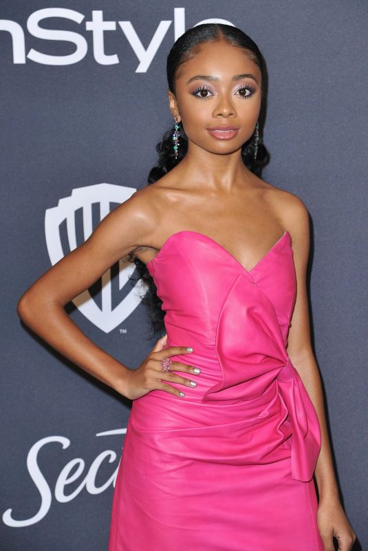 Skai Jackson At InStyle And Warner Bros. 77th Annual Golden Globe Awards Post-Party