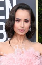 Sofia Carson At 77th Annual Golden Globe Awards 2020 in Beverly Hills