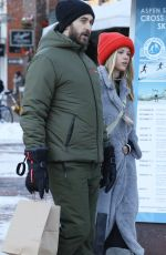 Sofia Richie Heads out shopping in Aspen